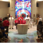 Confirmation Ceremony taking place in Diocese of Down and Conor